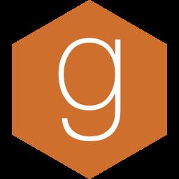goodread, hexagon, media, social icon