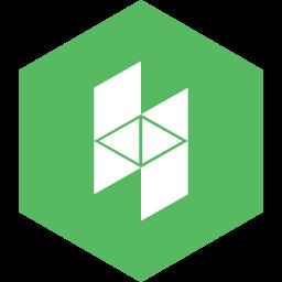 hexagon, houzz, media, social icon