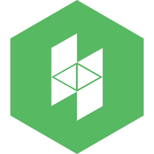 hexagon, houzz, media, social icon