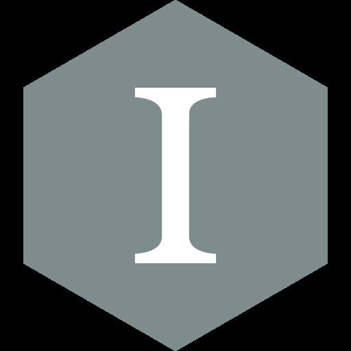 hexagon, instapaper, media, social icon