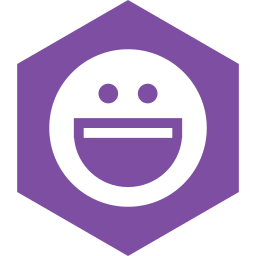 hexagon, media, messenger, social, yahoo icon