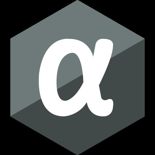 app, gloss, hexagon, media, net, social icon