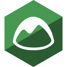 basecamp, gloss, hexagon, media, social icon