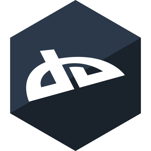deviantart, gloss, hexagon, media, social icon