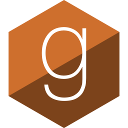 gloss, goodread, hexagon, media, social icon
