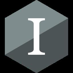 gloss, hexagon, instapaper, media, social icon