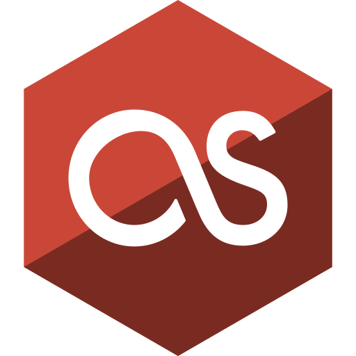 fm, gloss, hexagon, last, media, social icon