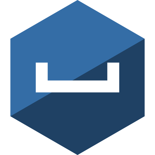 gloss, hexagon, media, my, social, space icon