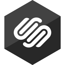 gloss, hexagon, media, social, squarespace icon