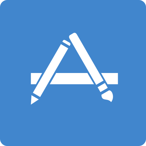 app, media, social, square, store icon