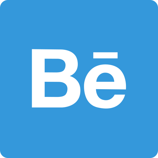 behance, media, social, square icon
