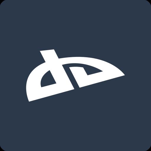 deviantart, media, social, square icon
