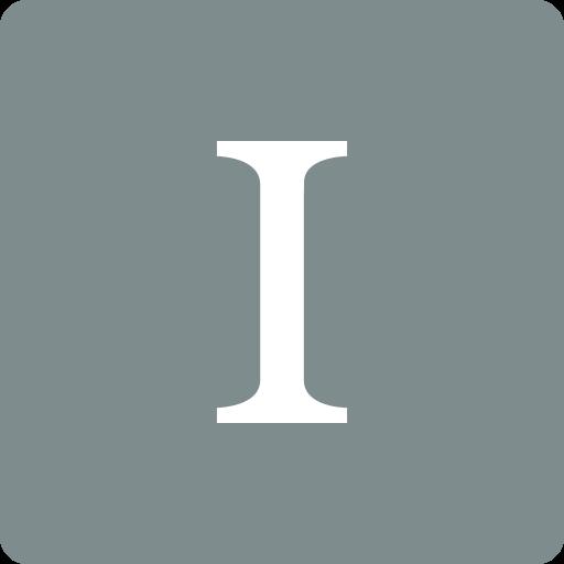 instapaper, media, social, square icon