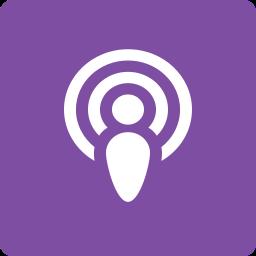 media, podcast, social, square icon