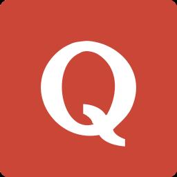 media, quora, social, square icon