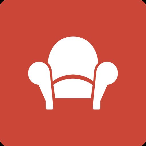 media, readability, social, square icon