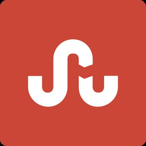 media, social, square, stumbleupon icon