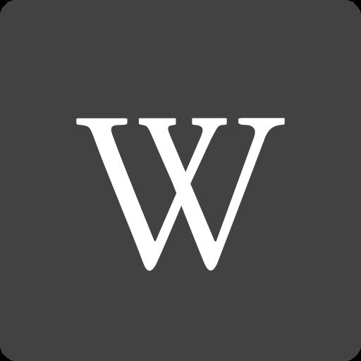 media, social, square, wikipedia icon