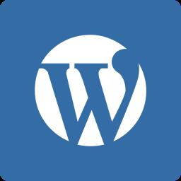 media, social, square, wordpress icon