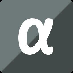 app, gloss, media, net, social, square icon