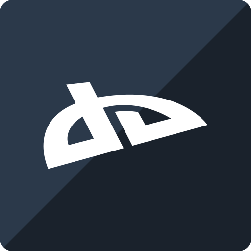 deviantart, gloss, media, social, square icon