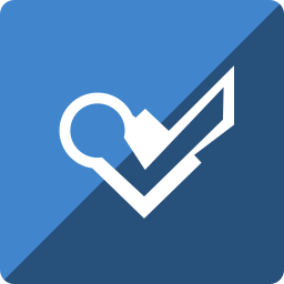 foursquare, gloss, media, social, square icon