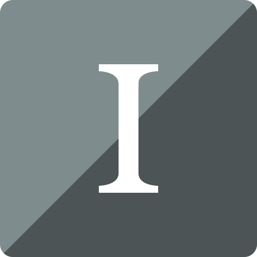 gloss, instapaper, media, social, square icon