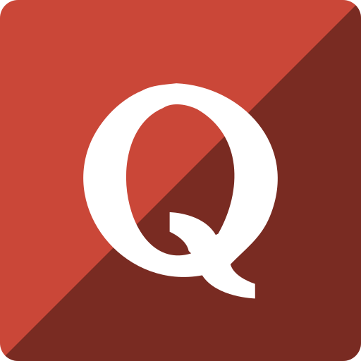 gloss, media, quora, social, square icon