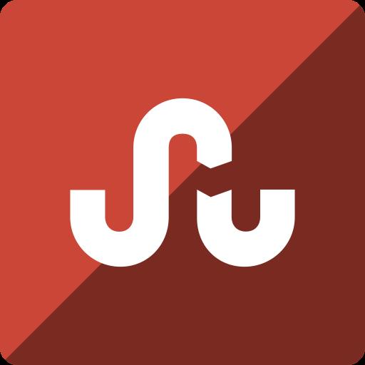 gloss, media, social, square, stumbleupon icon