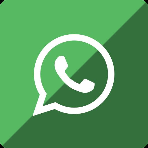 gloss, media, social, square, whatsapp icon