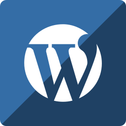 gloss, media, social, square, wordpress icon