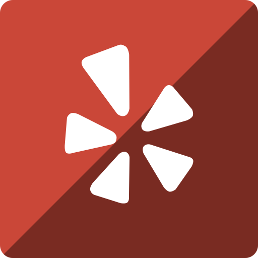 gloss, media, social, square, yelp icon