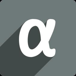 app, media, net, shadow, social, square icon