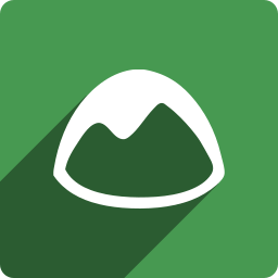 basecamp, media, shadow, social, square icon