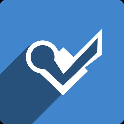 foursquare, media, shadow, social, square icon