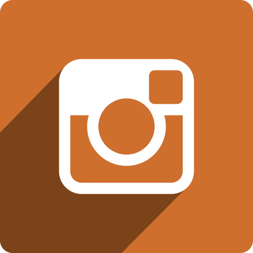 instagram, media, shadow, social, square icon