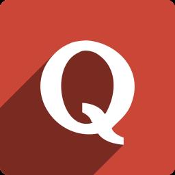 media, quora, shadow, social, square icon