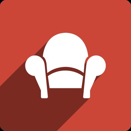 media, readability, shadow, social, square icon