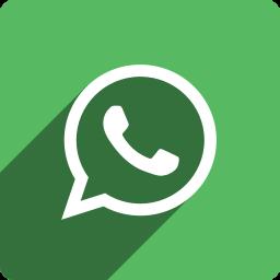 media, shadow, social, square, whatsapp icon