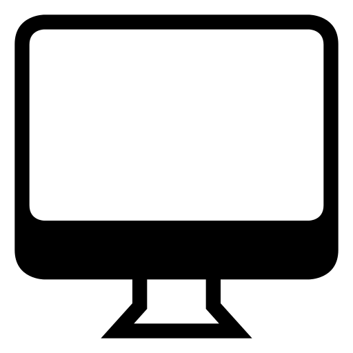 computer, desktop, device, display, monitor, pc, screen, technology icon