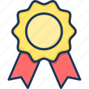 award, badge, reward