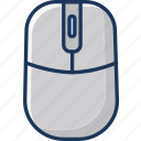 click, mouse, wireless icon