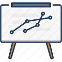 analytics, chart, graph icon