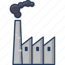 building, factory, industry