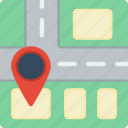 location, map, street icon
