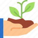 flower, plant, sprout icon