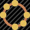 instrumen, music, tambourine icon