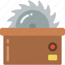 construction, saw, work icon