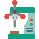 drill, industry, machine icon