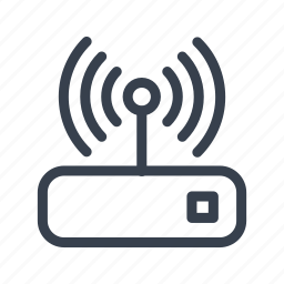 connection, internet, network, router, wifi icon